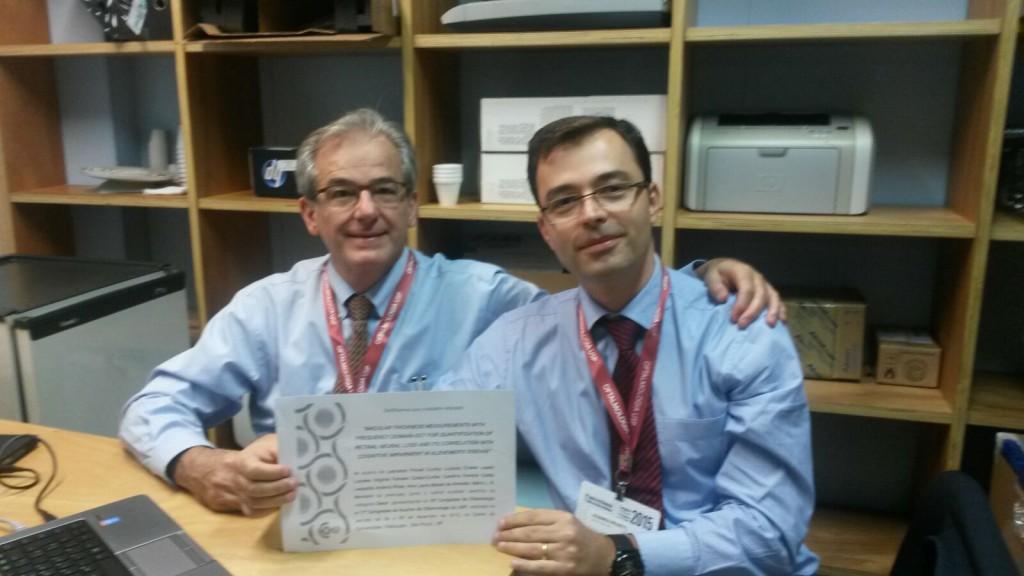 Leonardo Provet Cunha e Prof. Mário L. R. Monteiro