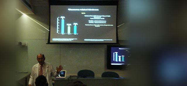 Prof. Remo Susanna Jr.<br />Porque as pessoas ficam<br />cegas pelo glaucoma