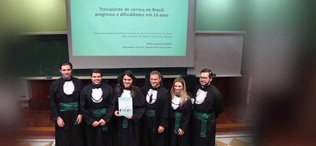 Doutorado de<br />Hirlana Gomes<br />de Almeida