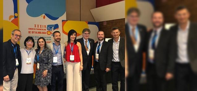 Profª Suzana Matayoshi <br/> Líderes da Oculoplástica <br/>no XXXIV Congresso <br/>Pan-Americano <br/> de Oftalmologia 2019
