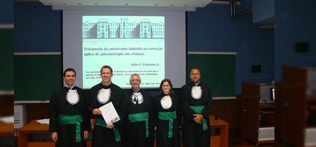 Doutorado de <br/ > Hélio Primiano Jr.