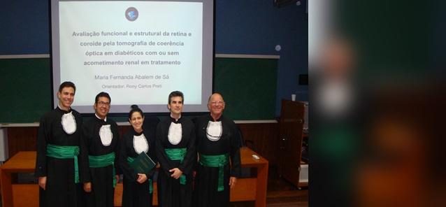Doutorado de <br/> Maria Fernanda Abalem de Sá